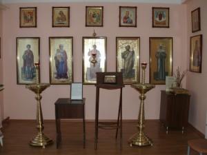 Молитвенная комната при отделении паллиативной помощи Томаровской районной больницы