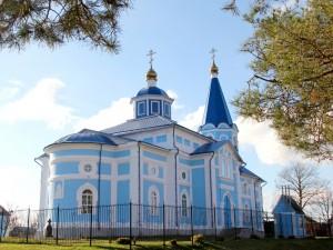 Храм Казанской Божией Матери п. Томаровка