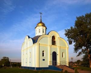 храм в честь Рождества Богородицы в с. Алексеевка